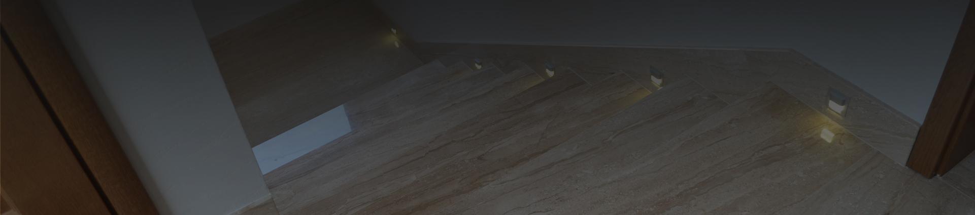 Luksusowe kamienne schody