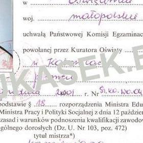 swiadectwo1 - Lukasek kamieniarstwo referencje